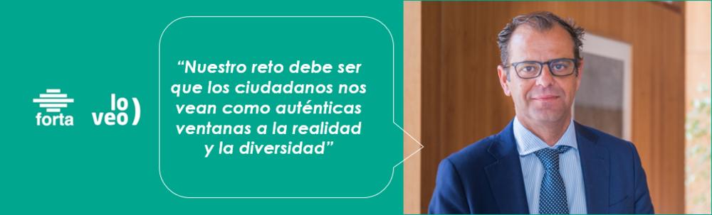 Entrevista a Juande Mellado, presidente de FORTA
