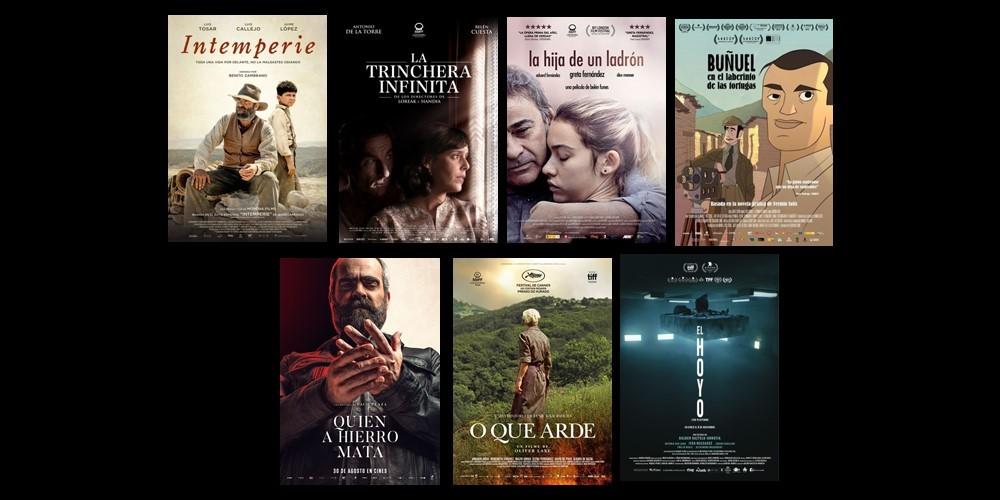 Las producciones audiovisuales con apoyo de las TV de FORTA, galardonadas con 10 premios Goya