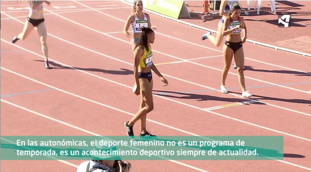 El deporte femenino, protagonista en las autonómicas