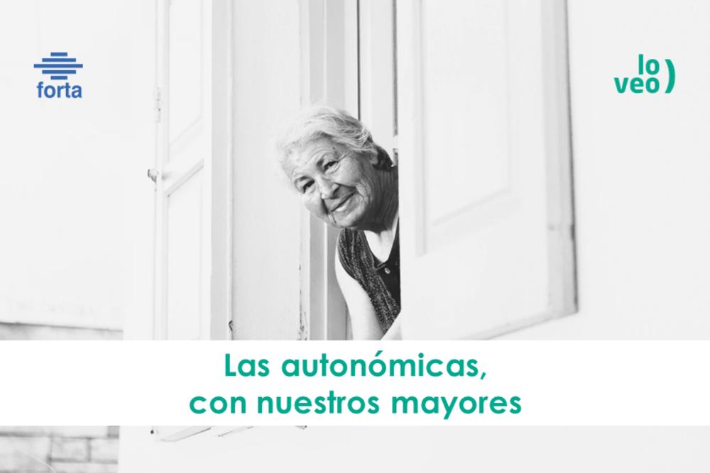 Las autonómicas muestran su apoyo a los mayores con una programación especial