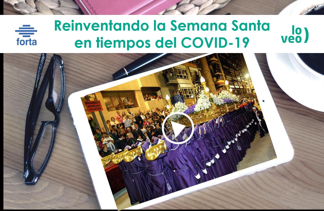 Las autonómicas reinventan la Semana Santa, en tiempos del COVID-19