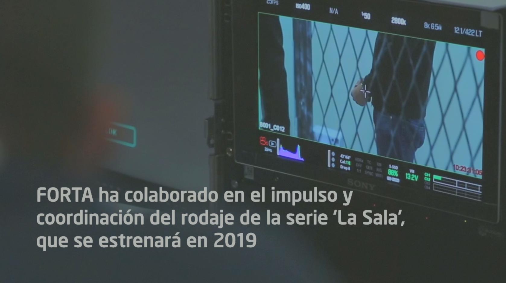 """En 2019 se lanzará la serie """"La Sala"""" en la que ha colaborado FORTA"""