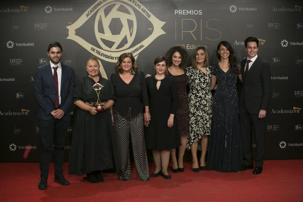 La Academia de Televisión reconoce con cinco Premios Iris la labor de las autonómicas