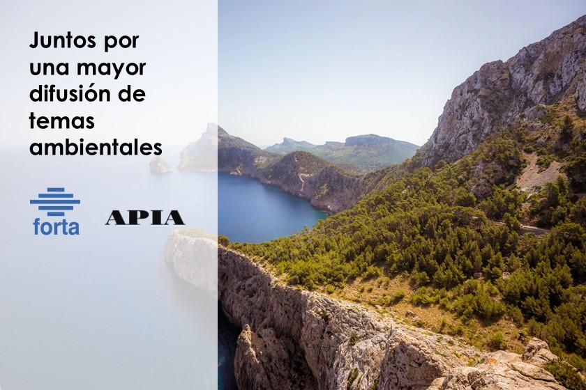FORTA y APIA acuerdan colaborar por una mayor difusión de los temas ambientales