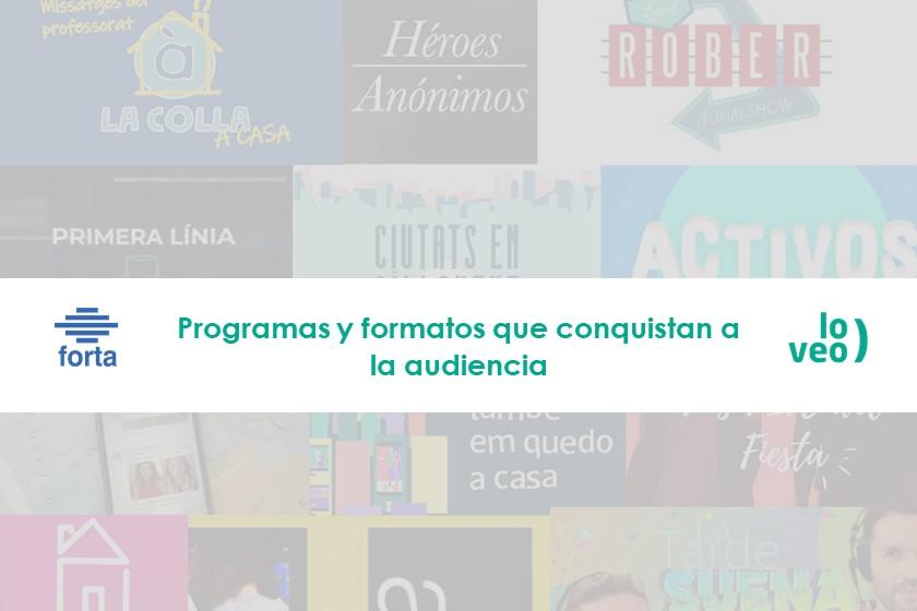 """Los nuevos programas y formatos creados durante la """"cuarentena"""" conquistan a la audiencia"""