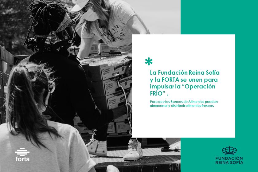 """La Fundación Reina Sofía y la FORTA se unen para impulsar la """"Operación FRÍO"""""""