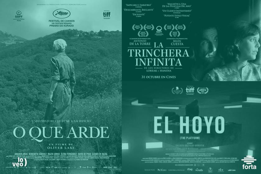 Tres producciones apoyadas por las autonómicas, preseleccionadas para los premios Oscar