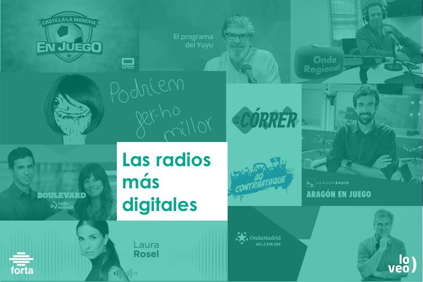 Las radios públicas autonómicas refuerzan su labor en el mundo digital