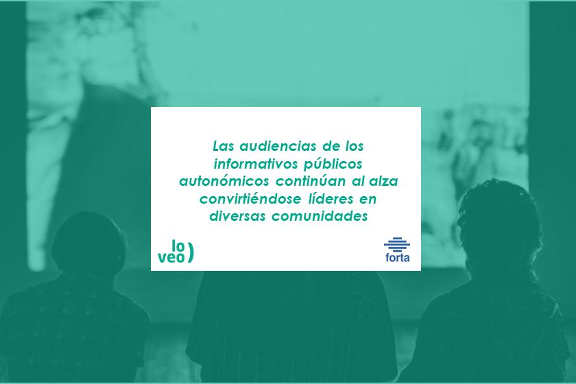 Los servicios audiovisuales públicos autonómicos como referente informativo